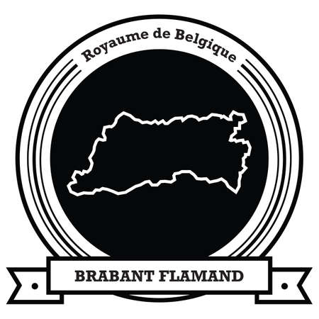 brabant flamand map label