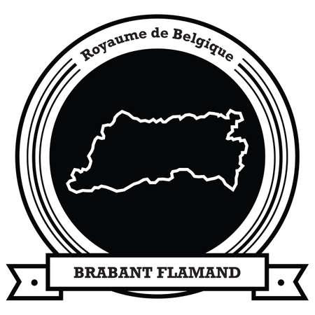 brabant flamand map label