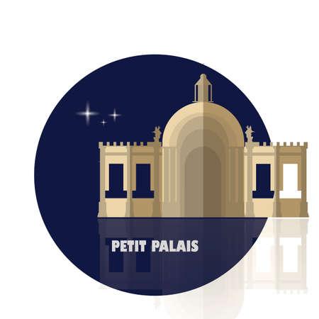 palais: petit palais Illustration