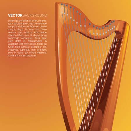 Harp background