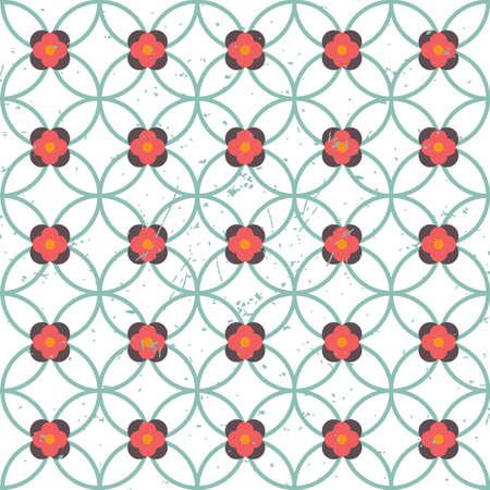 floral pattern background Иллюстрация