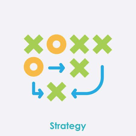 Business-Strategie-Konzept Vektorgrafik