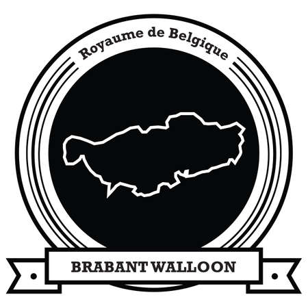 brabant walloon map label