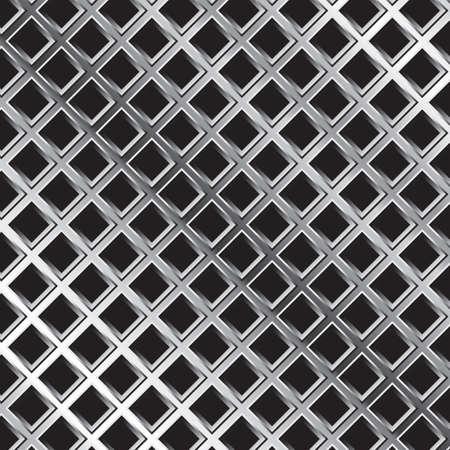 aluminium wallpaper: seamless metal mesh background