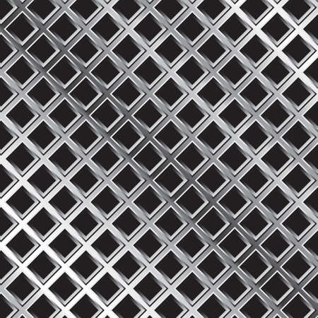 Senza soluzione di continuità metallo sfondo di maglia Archivio Fotografico - 81535642