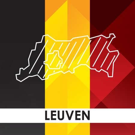 ルーヴェンの地図