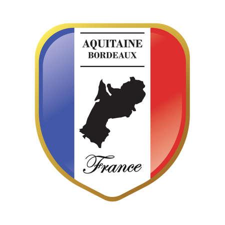 aquitaine map label