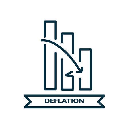 Déflation Banque d'images - 81535454