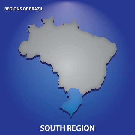Brasil região sul Foto de archivo - 81484857