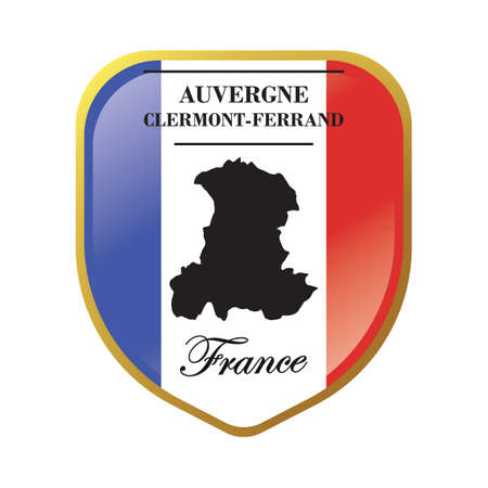 Auvergne map label