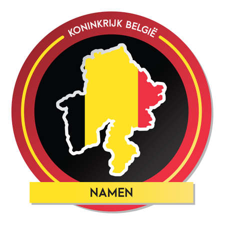 namen map sticker