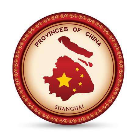 shanghai map Imagens - 106669256