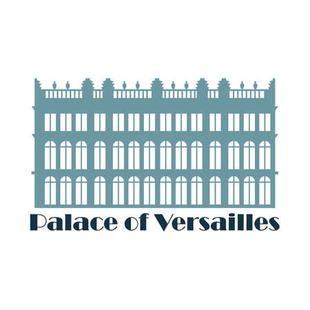 palace of versailles Stock Illustratie