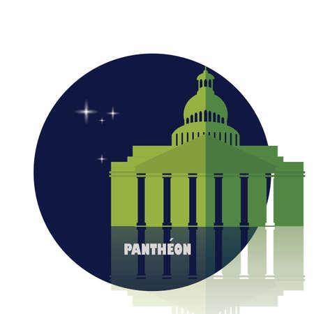 Pantheon Иллюстрация