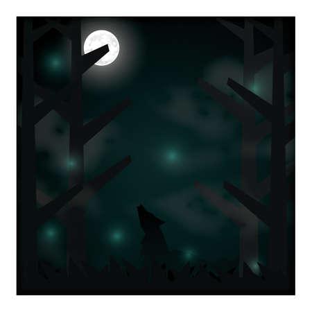 night background 向量圖像