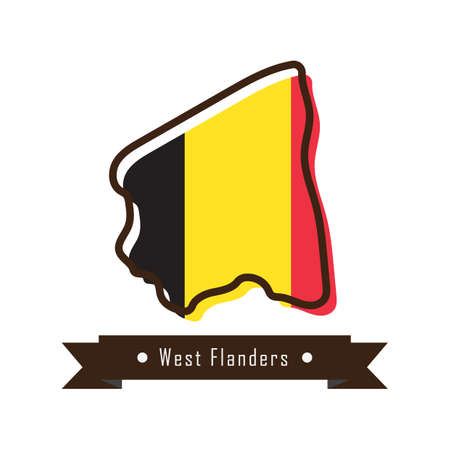 west flanders map