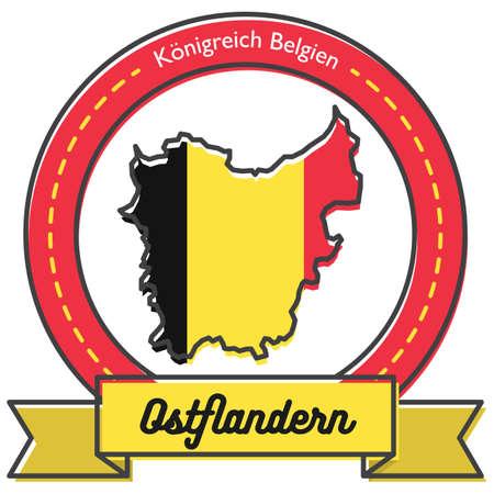 ostflandern map label