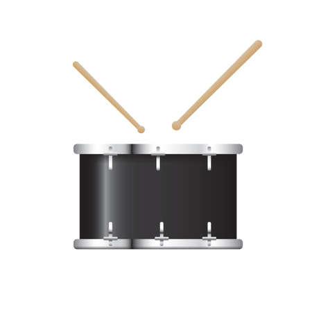 bass drum Stock Illustratie