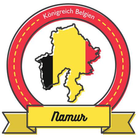 namur map label