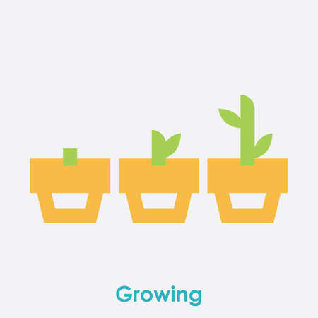 growth concept Stock Vector - 81484958