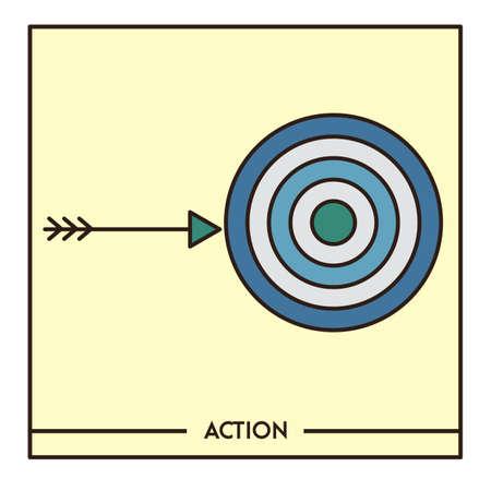 action Иллюстрация