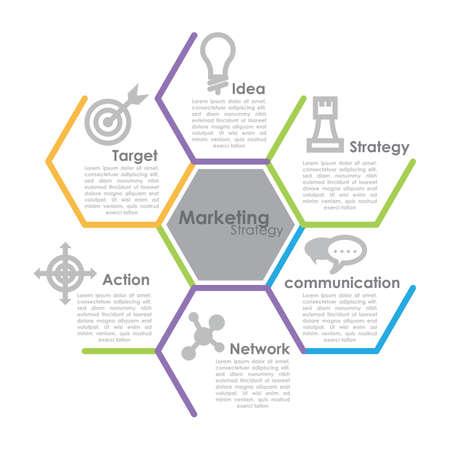 marketing strategy Фото со стока - 81484973