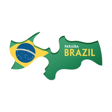 paraiba map