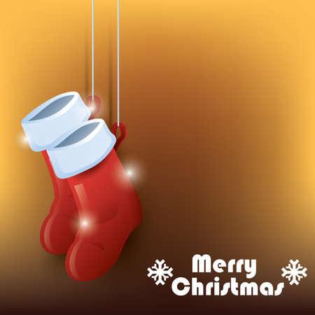 메리 크리스마스 배경 일러스트