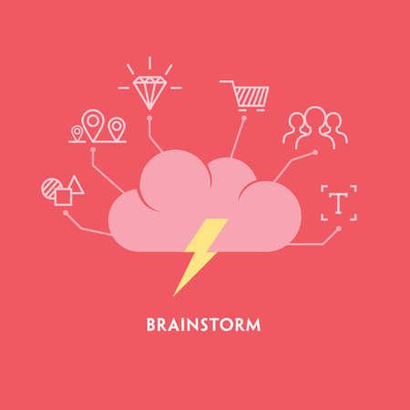 Brainstorm Illusztráció