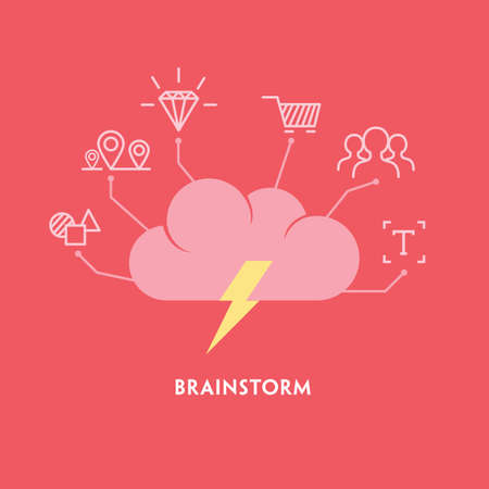 Brainstorm Illustration