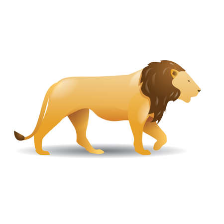 lion Ilustracja