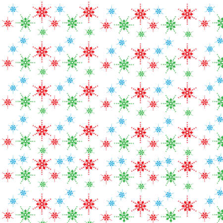 snowflakes pattern background