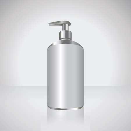 sanitizer bottle Illustration