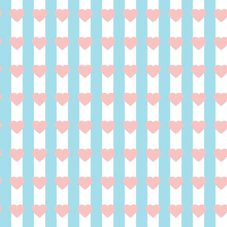 seamless heart patterns background