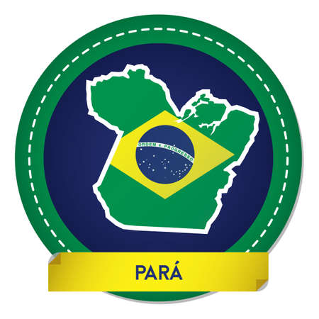 para map sticker Illustration