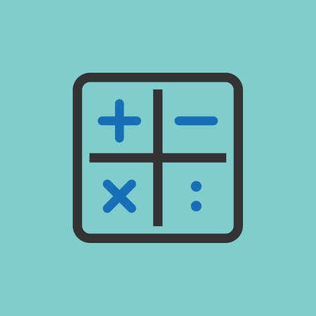 icônes de calcul
