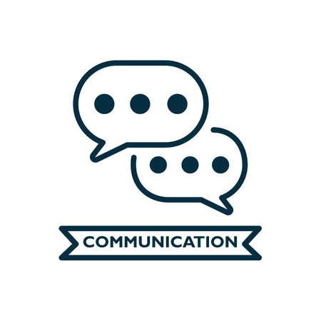 communicatie Stock Illustratie