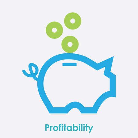 profitability 向量圖像
