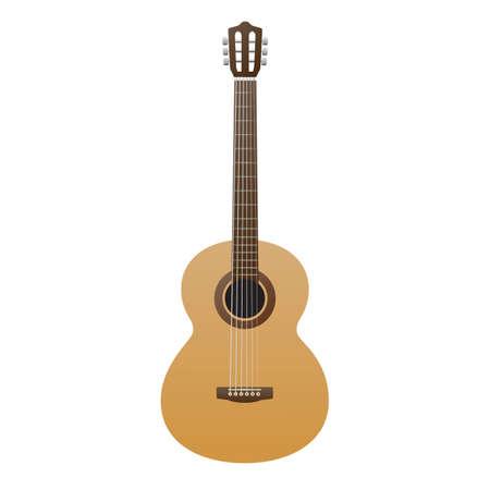 acoustic guitar Ilustrace