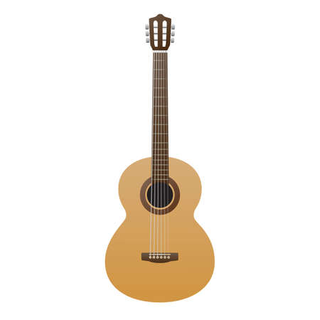 acoustic guitar Stock Illustratie