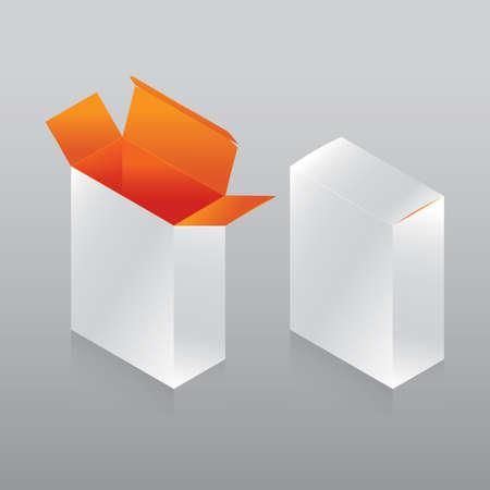 paper boxes 일러스트
