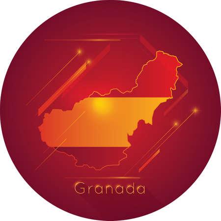 グラナダ地図