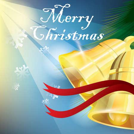 Merry christmas background Illustration