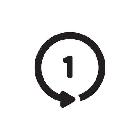 repeat button Banque d'images - 106669407