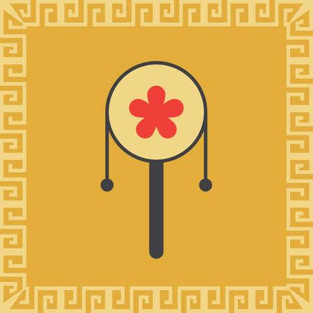 Juguete tradicional chino Foto de archivo - 81535596