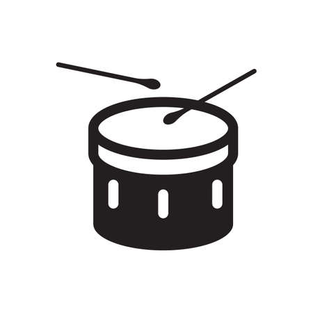 bass drum Illustration