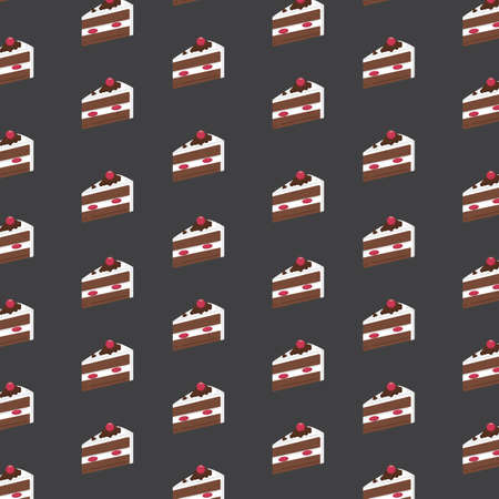 background with piece of cake