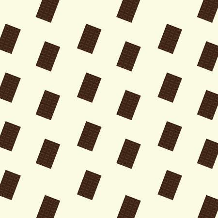 background with chocolate bar Illusztráció