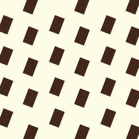 background with chocolate bar Illustration