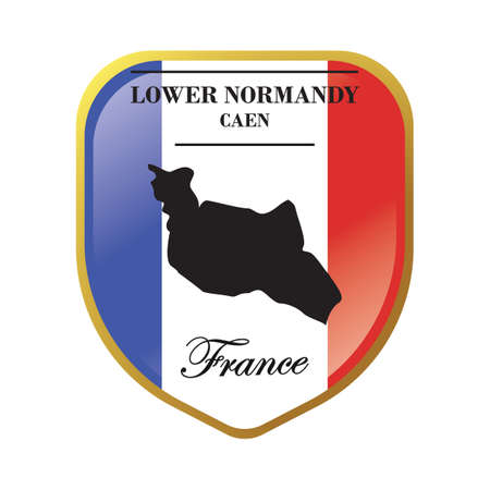 lower normandy map label